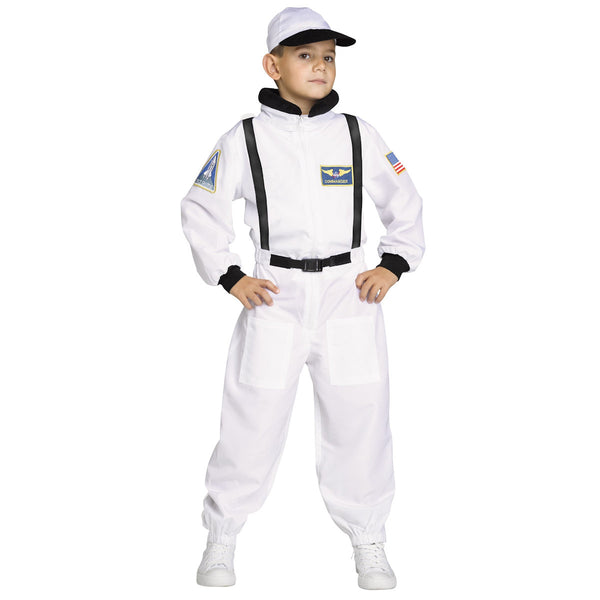Astronaut Shuttle Commander Boys Costume NASA Licensed