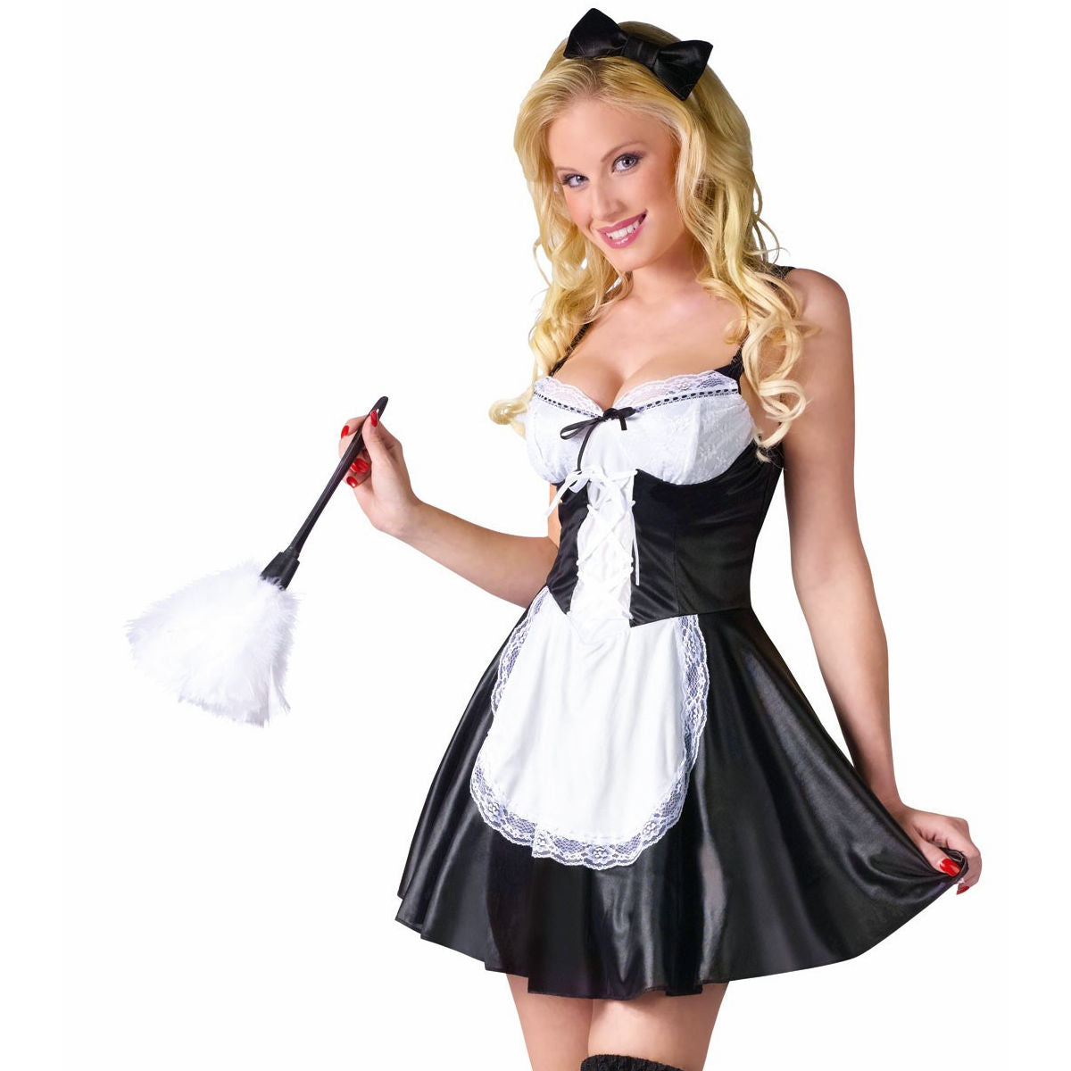 Sexy French Maid Women's Fancy Dress Costume