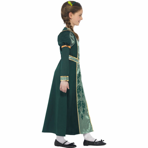 Shrek Princess Fiona Girl's Costume Genuine Licensed with Tiara and Ears