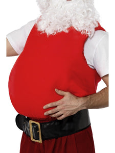 Santa Belly Stuffer Vest Christmas Costume Accessory