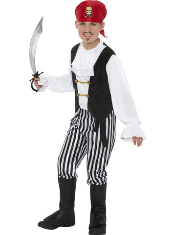Pirate Costume Boys Adventure Child Costume