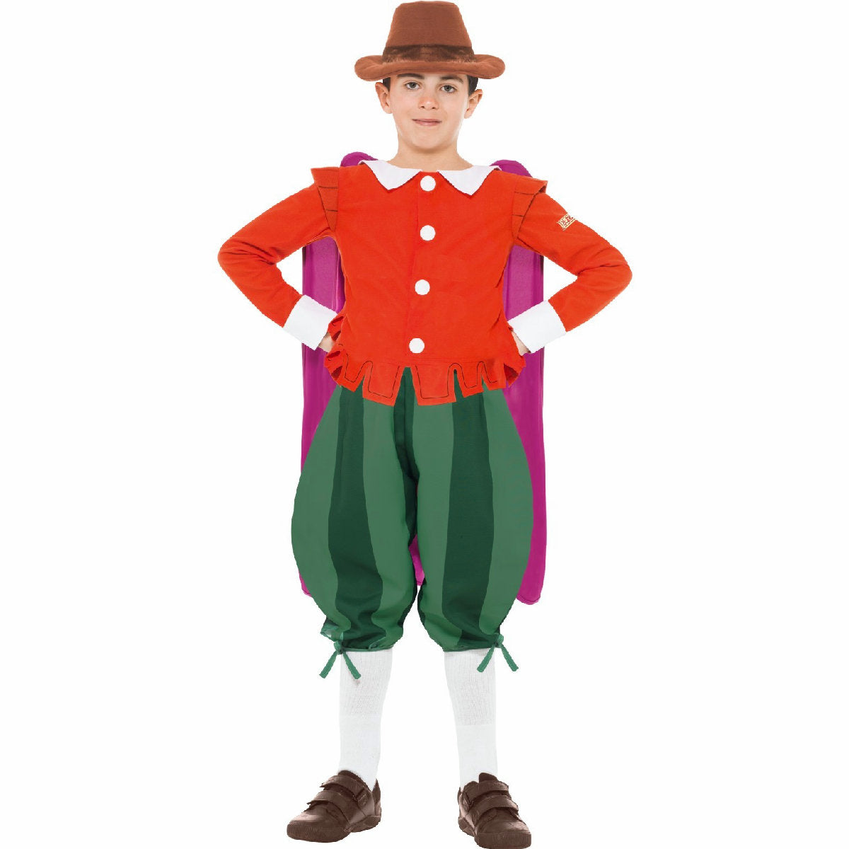 Guy Fawkes Horrible Histories Boy's Costume