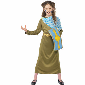Horrible Histories Boudica Celtic Warrior Queen Girls Costume