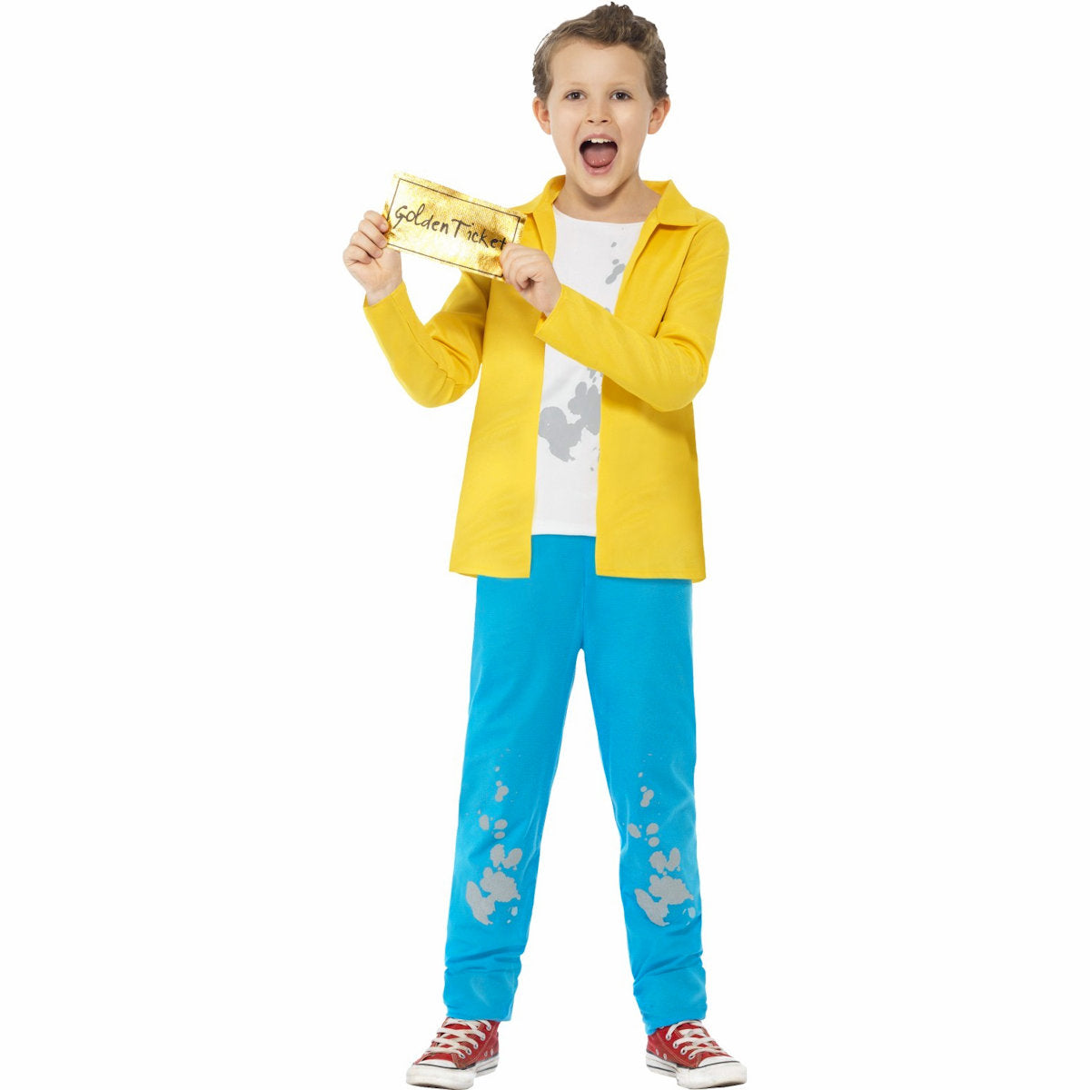 Roald Dahl Charlie Bucket Willy Wonka Children's Costume