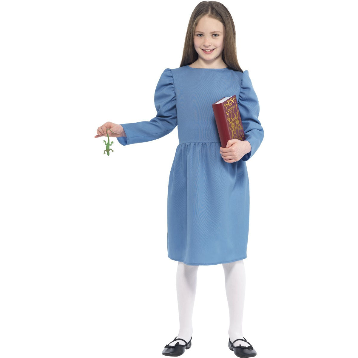 Roald Dahl Matilda Girls Book Week Costume with Newt & Book