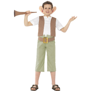 Roald Dahl BFG Children's Costume with large ears and horn