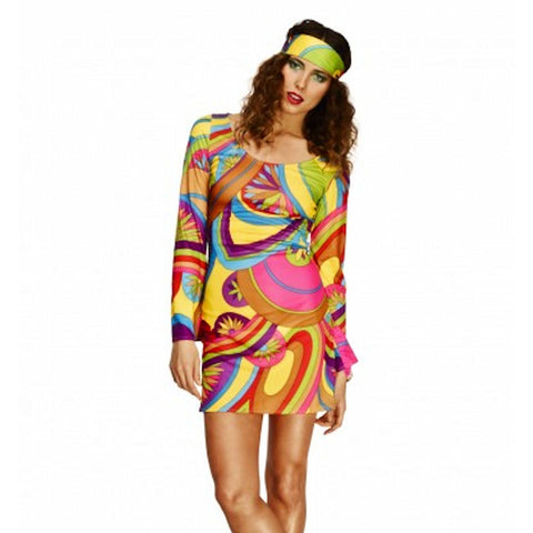 60's & 70's Flower Power Women's Costume
