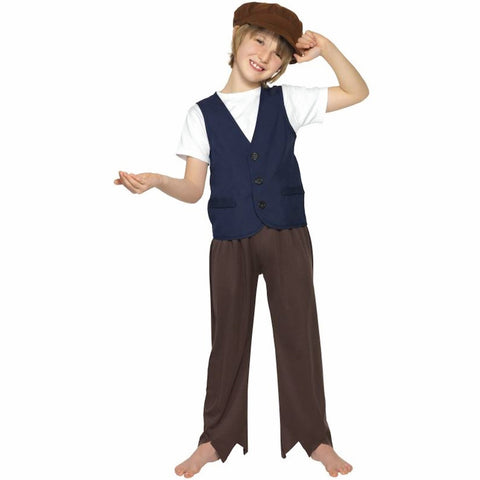 Peasant Boy Vest & Cap Child Costume Smiffy's