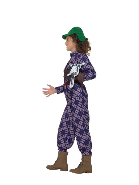 Awful Auntie Costume David Walliams Deluxe Child Costume - Genuine Smiffys