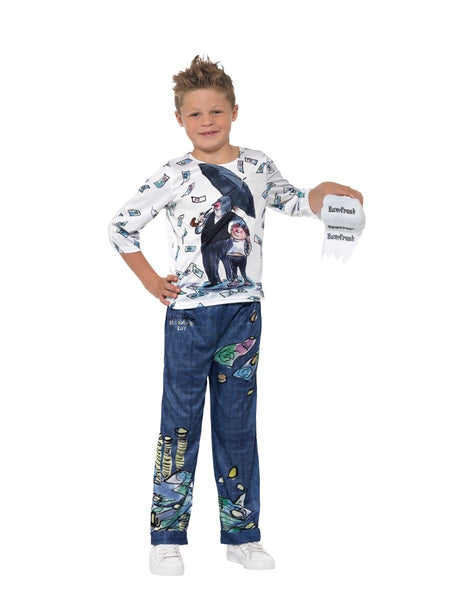 Billionaire by David Walliams Deluxe Child Costume - Genuine Smiffys