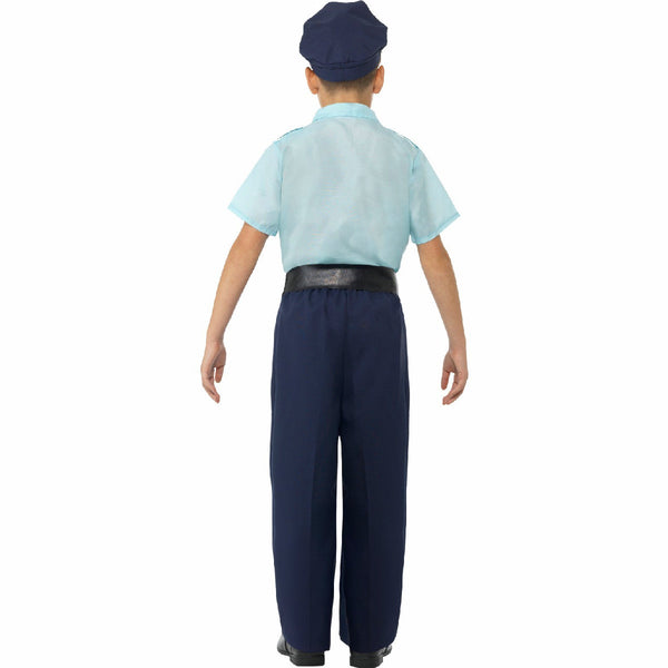 Police Officer Cop Boy's Complete Costume with Hat