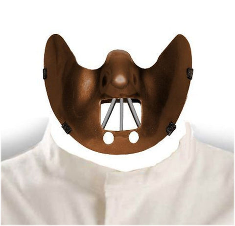 Hannibal Lecter Halloween Mask Men's fancy dress costume accessories