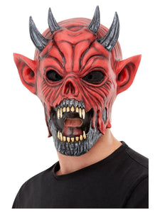 Devil Demon Latex Mask Full Head High Quality Halloween Costume Mask