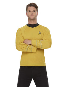 Star Trek, Original Series Command Uniform, Gold Genuine Licensed