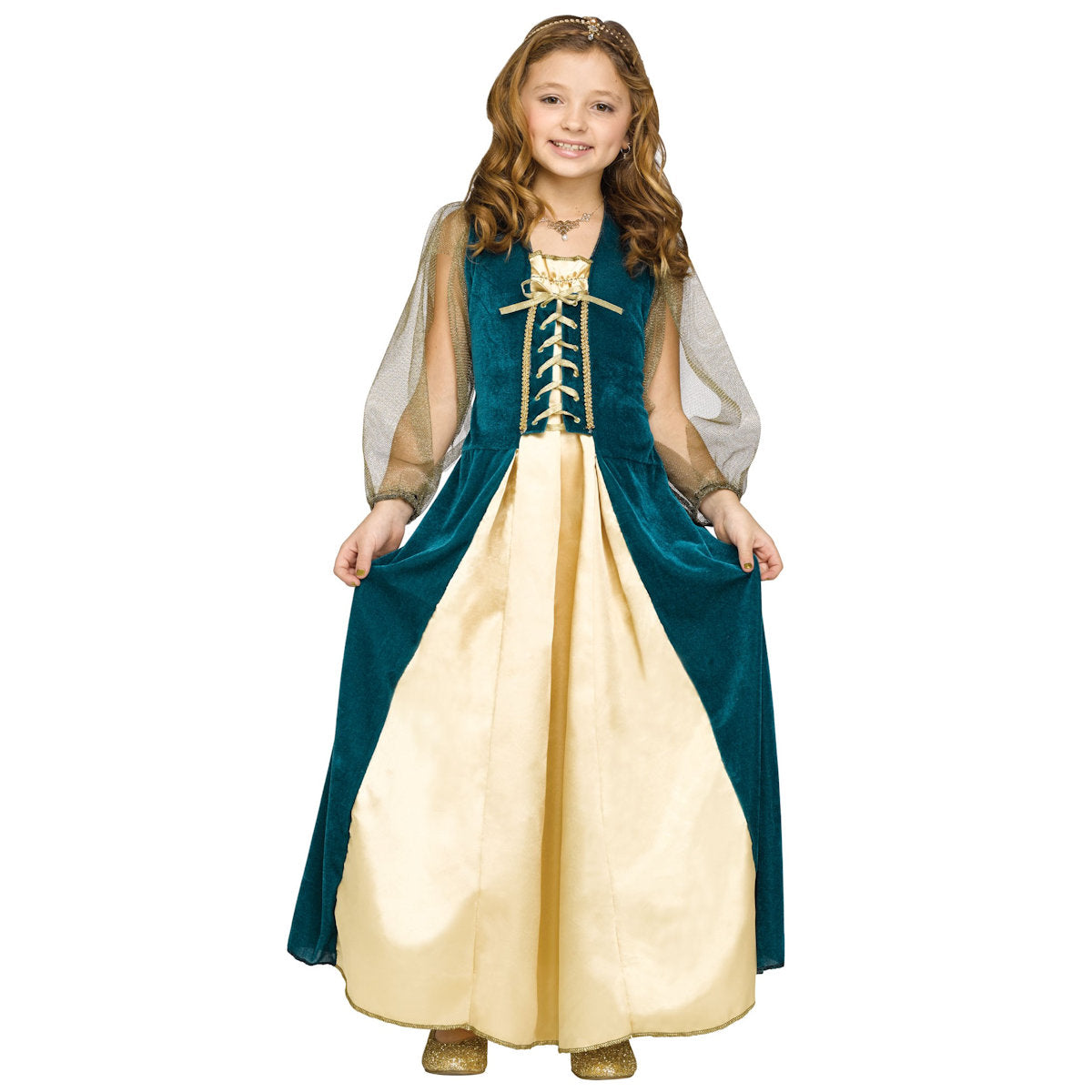 Medieval Juliet Fairytale Princess Girls Costume