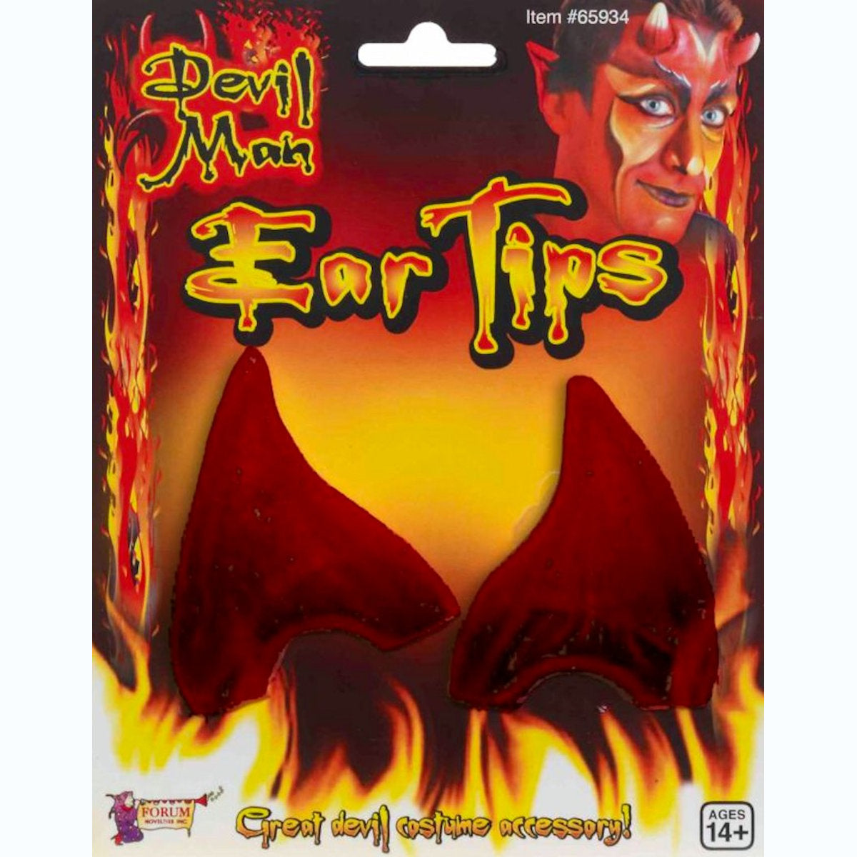 Devil Demon EAR TIPS fancy dress costume accessory