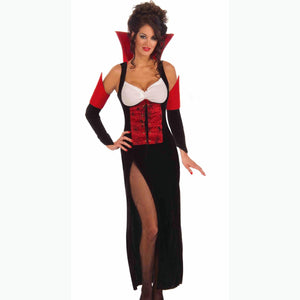 Sexy Vampiress Halloween Women's Fancy Dress Costume