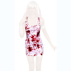 Sexy Zombie Bloody Party Dress Women's Halloween fancy dress costume