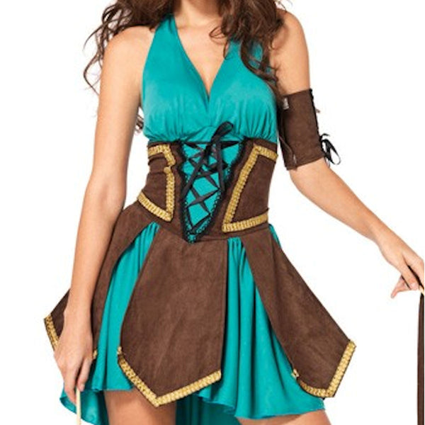 Celtic Warrior Roman Goddess Womens Costume