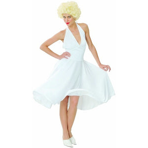 Monroe Deluxe Iconic Bombshell 50's Pleated Dress Woman's Costume