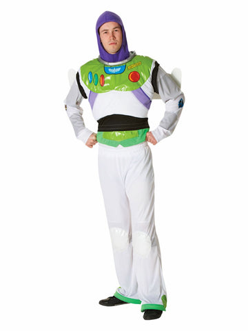 Buzz Lightyear Toy Story Plus Size Men's Fancy Dress Costume Licensed