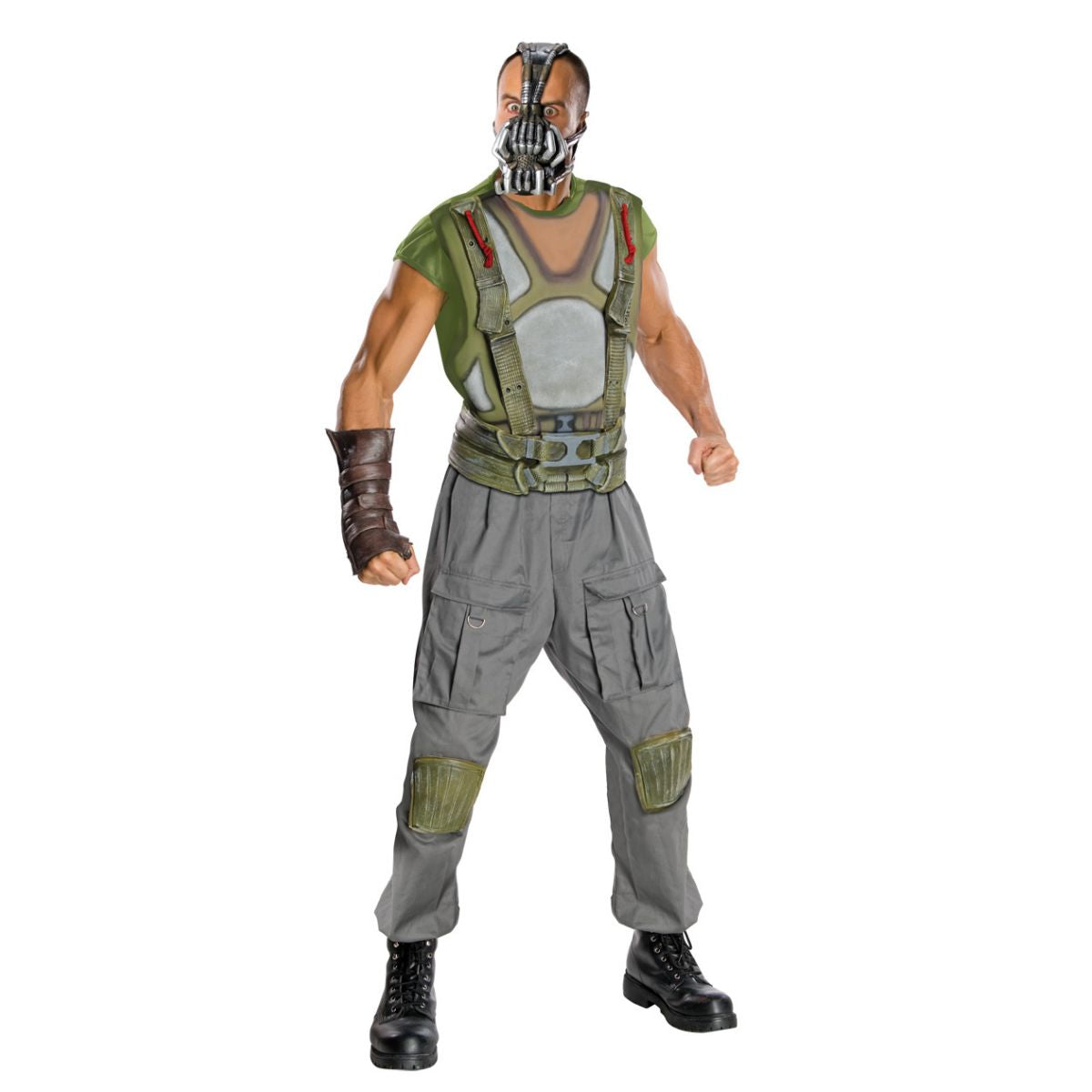 BANE Dark Knight Deluxe Men's Fancy Dress Costume Genuine Licensed with mask