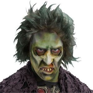 Bio Zombie Monster WIG Men's Fancy Dress Halloween Costume Accessory