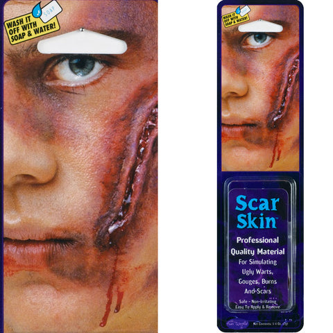 Scar Skin Putty Warts Burns Scars Wounds Makeup Special Effects fancy dress 2.8gm