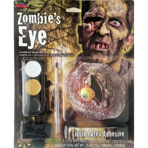 Zombie Hanging Eye Makeup Kit Special FX Kit Halloween Costume Accessory