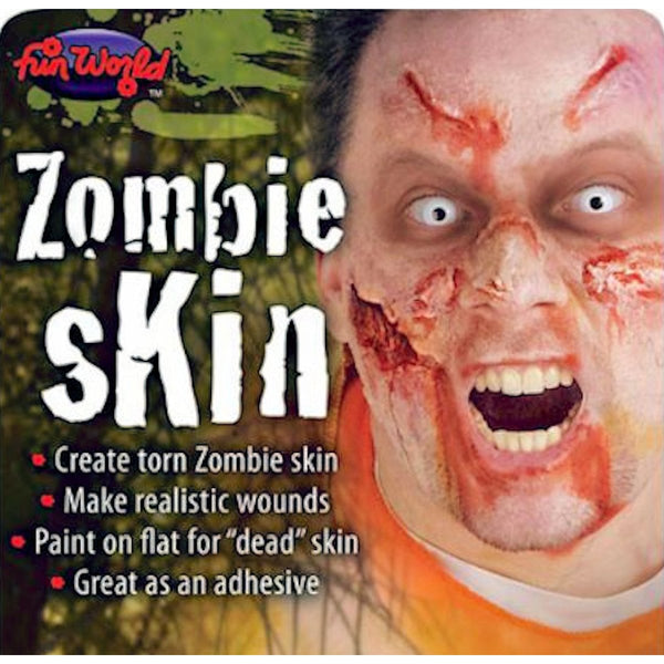 Zombie Skin Makeup Special FX Kit 1.0 Oz (28.3ml) Halloween Costume Accessory