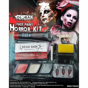 Horror Character Face Paint Makeup FX Kit Halloween Costume Accessory Global