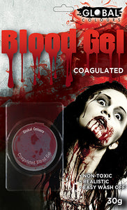 Realistic Coagulated Fake Blood GEL Horror Makeup Special FX 30gm non-toxic