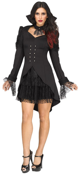 Crypt Countess Women's Halloween Costume Vamp Goth
