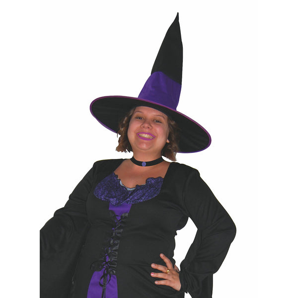 Plus Size Wicked Witch Women's Halloween Fancy Dress Costume