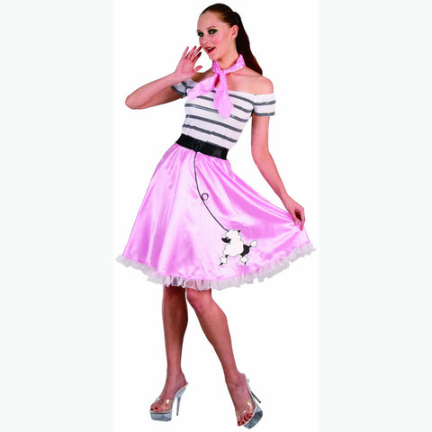 1950's Rock & Roll Women's Fancy Dress Costume