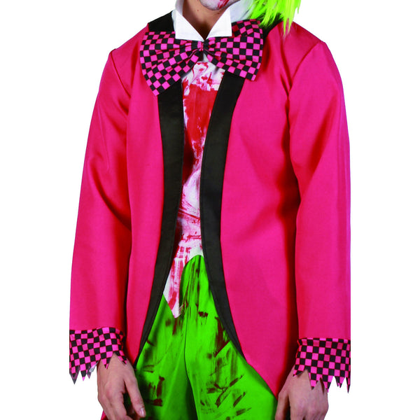 Jilted Jester Clown Men's Costume Fun Halloween Fancy Dress Costume