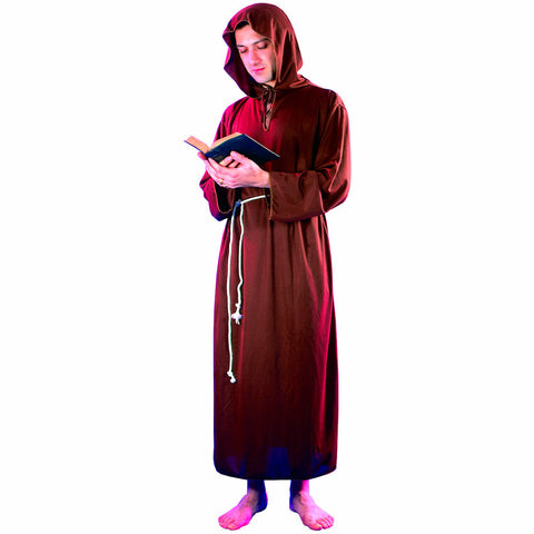 Monk Priest Druid Men's Fancy Dress Costume