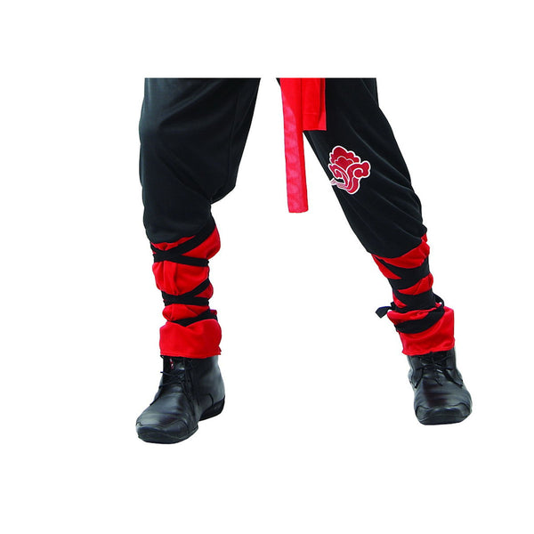 Black Ninja Men's Fancy Dress Costume