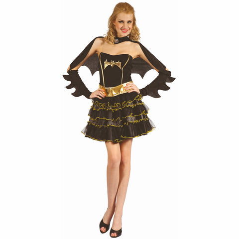 Bat Girl Sexy Women's Fancy Dress Costume