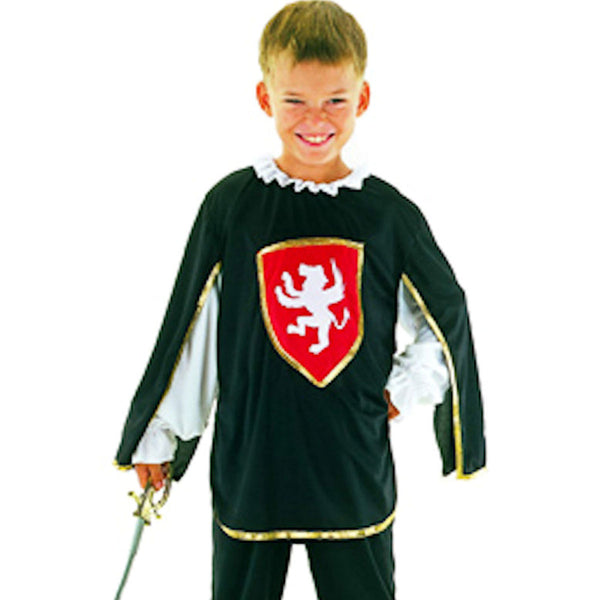 Musketeer Medieval Boys Fun Costume Fancy Dress