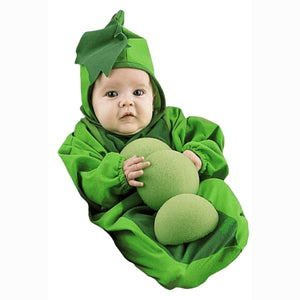 Pea in the Pod Baby Infant fancy dress costume Very Cute