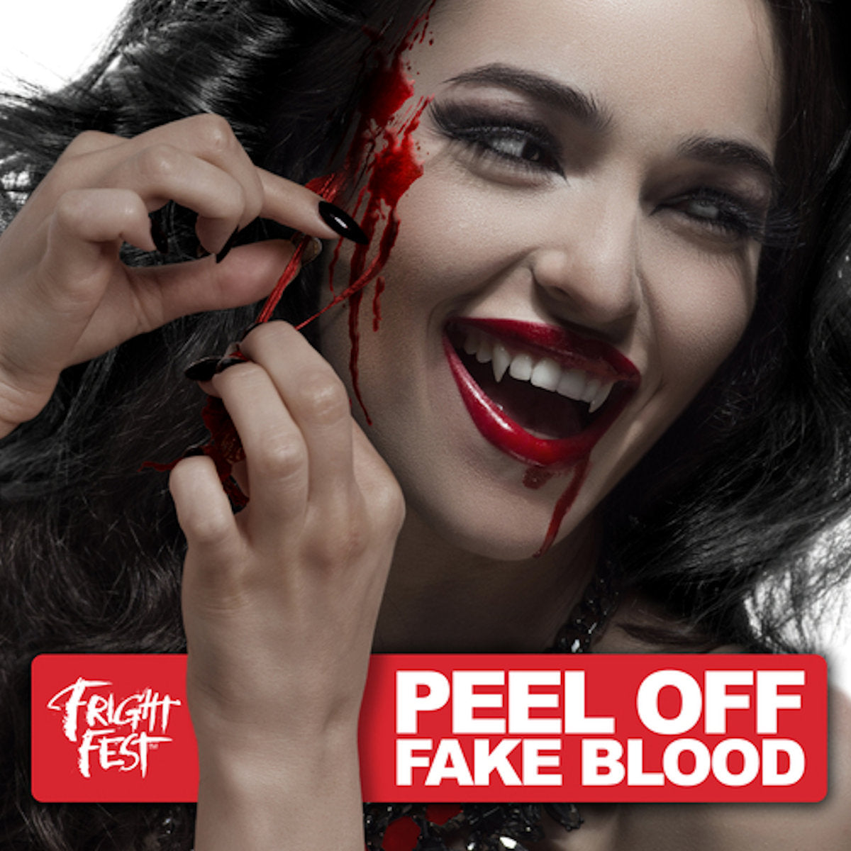 Peel Off Fake Blood Fright Fest Halloween Make Up Special FX