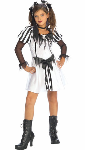 Punky Pirate Girls Halloween Costume with Hair Ties fancy dress costume