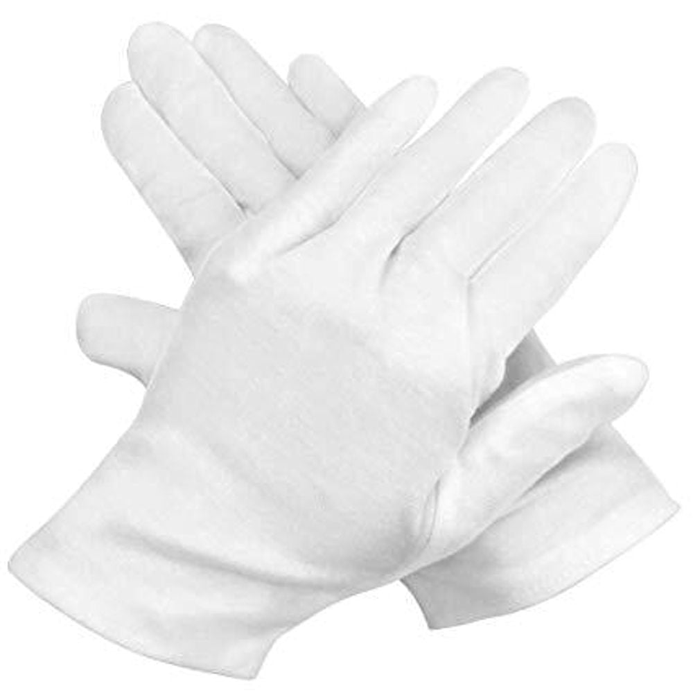 Santa White Gloves Adult Size Christmas Costume Accessory