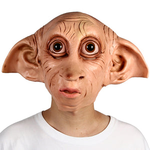 Dobby House Elf Latex Mask Fancy Dress Halloween Costume Accessory