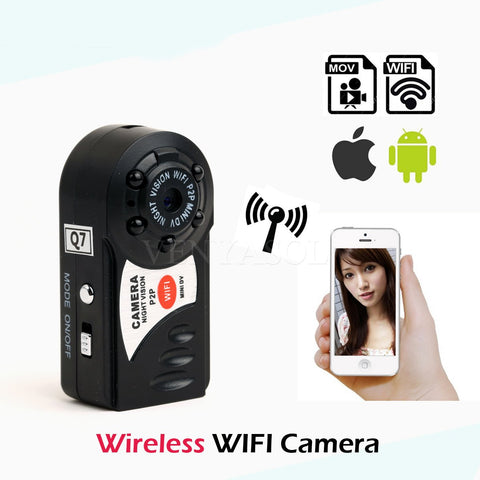Powerful Video AND Audio Recording With This WiFi P2P Mini Camera