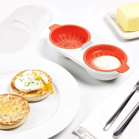 Unique Silicone Poaching Cups Create Perfect Poached Eggs