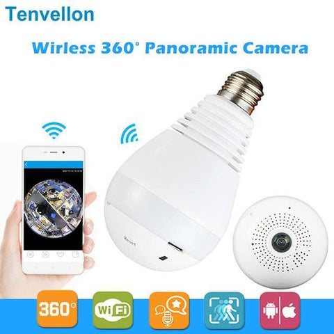 Wireless IP Camera Bulb Lightbulb