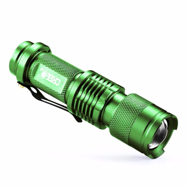 Add This FREE Zoomable CREE Q5 LuMax Tactical Flashlight To Your Order Now!  Just Cover Standard Shipping & We'll Include This FREE For You Right Now!  Click ADD To CART Now While This Is Still Available For You!