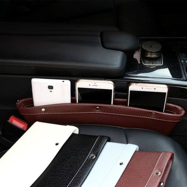 "EZ Slim Pocket Stops Your Things From Falling Into The Car Seat ""Abyss"""